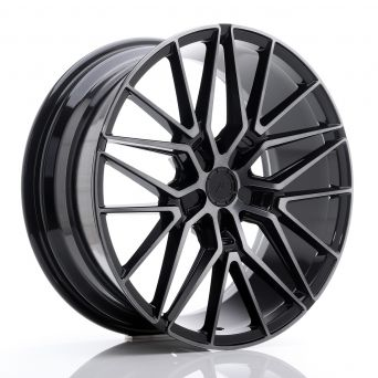 Japan Racing Wheels - JR-38 Black Brushed Tinted Face (19x8.5 inch)