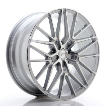 Japan Racing Wheels - JR-38 Silver Machined (19x8.5 Zoll)