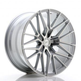 Japan Racing Wheels - JR-38 Silver Machined (19x9.5 inch)