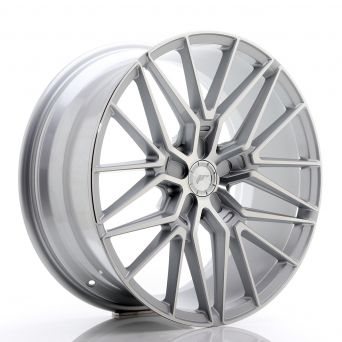 Japan Racing Wheels - JR-38 Silver Machined (20x9 inch)