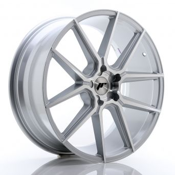 Japan Racing Wheels - JR-30 Silver Machined (21x9 inch)