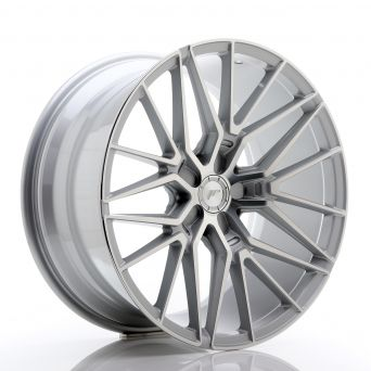 Japan Racing Wheels - JR-38 Silver Machined (20x10 inch)