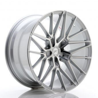 Japan Racing Wheels - JR-38 Silver Machined (20x10.5 inch)
