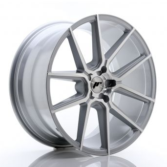 Japan Racing Wheels - JR-30 Silver Machined (21x10.5 inch)