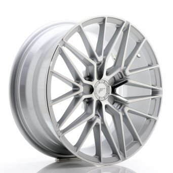 Japan Racing Wheels - JR-38 Silver Machined (18x8 inch)