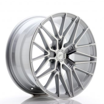 Japan Racing Wheels - JR-38 Silver Machined (18x9 inch)