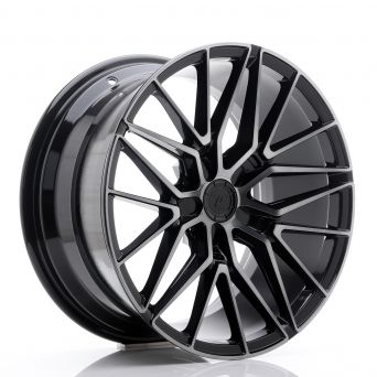 Japan Racing Wheels - JR-38 Black Brushed (18x9 inch)