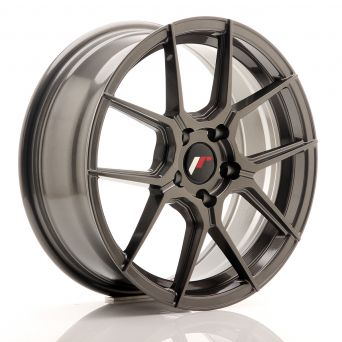 Japan Racing Wheels - JR-30 Hyper Gray (17x7 inch)
