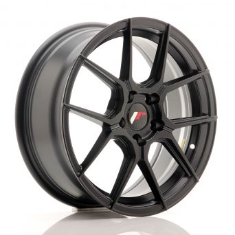 Japan Racing Wheels - JR-30 Matt Black (17x7 inch)