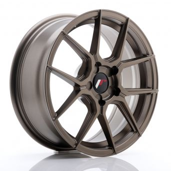 Japan Racing Wheels - JR-30 Matt Bronze (17x7 inch)