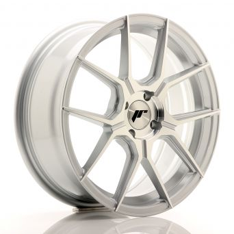 Japan Racing Wheels - JR-30 Silver Machined (17x7 inch)