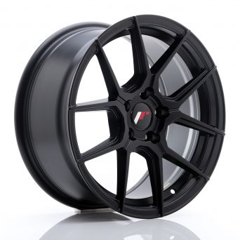 Japan Racing Wheels - JR-30 Matt Black (17x8 inch)