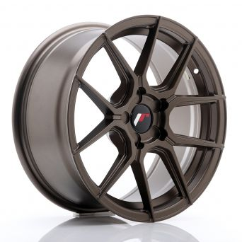 Japan Racing Wheels - JR-30 Matt Bronze (17x8 inch)