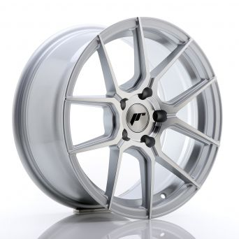 Japan Racing Wheels - JR-30 Silver Machined (17x8 inch)