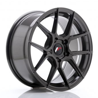 Japan Racing Wheels - JR-30 Hyper Gray (17x8 inch)