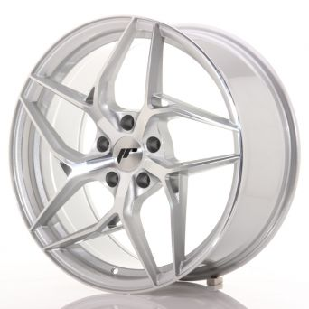 Japan Racing Wheels - JR-35 Silver Machined (19x8.5 inch)