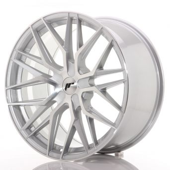 Japan Racing Wheels - JR-28 Silver Machined (21x9 inch)
