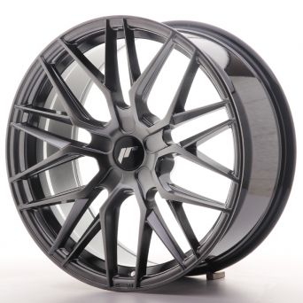 Japan Racing Wheels - JR-28 Hyper Black (19x8.5 inch)