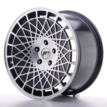 Japan Racing Wheels - JR-14 Black Machined (18x9.5 inch)