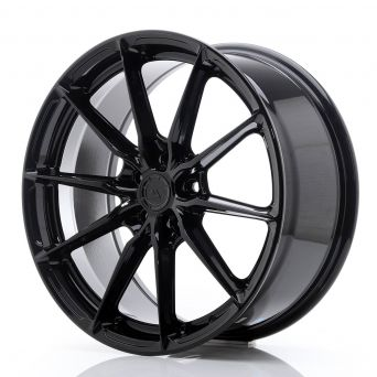 Japan Racing Wheels - JR-37 Glossy Black (19x8.5 inch)