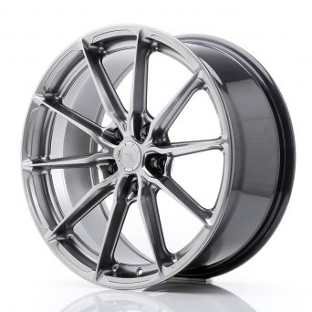 Japan Racing Wheels - JR-37 Hyper Black (19x8.5 inch)