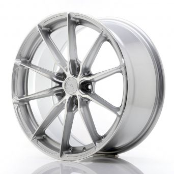 Japan Racing Wheels - JR-37 Silver Machined (19x8.5 inch)