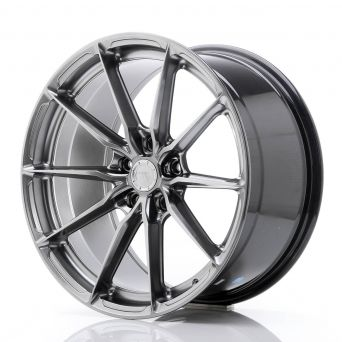 Japan Racing Wheels - JR-37 Hyper Black (19x9.5 inch)
