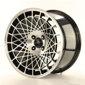 Japan Racing Wheels - JR-14 Black Machined (16x9 inch)