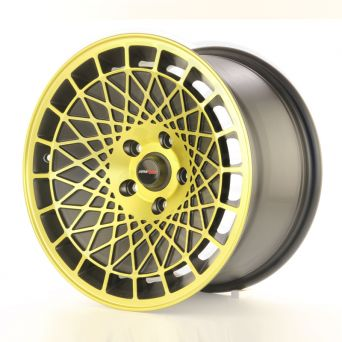 Japan Racing Wheels - JR-14 Black Gold Finish (15 inch)