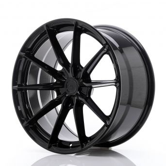 Japan Racing Wheels - JR-37 Glossy Black (20x10 inch)