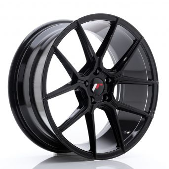 Japan Racing Wheels - JR-30 Glossy Black (19x9.5 inch)