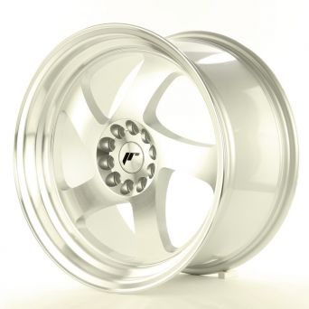 Japan Racing Wheels - JR-15 Machined Silver (18x9.5 inch)
