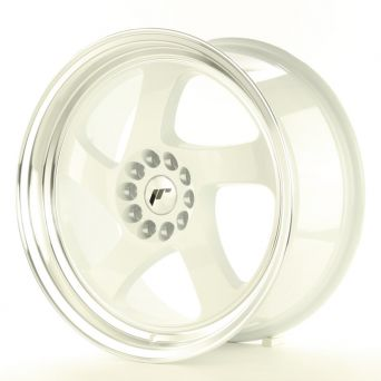 Japan Racing Wheels - JR-15 White (17x8 inch)