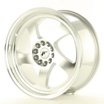 Japan Racing Wheels - JR-15 Machined Silver (18x8.5 inch)