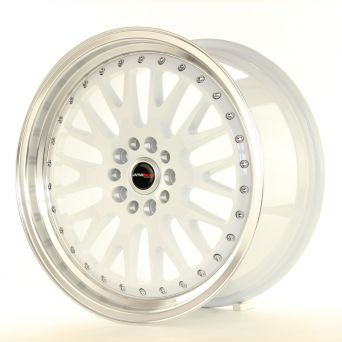 Japan Racing Wheels - JR-10 White (18x8.5 inch)