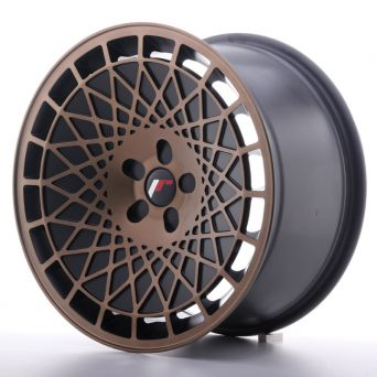 Japan Racing Wheels - JR-14 Blank Black Bronze Machined (18x9.5 inch)