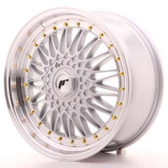 Japan Racing Wheels - JR-9 Machined Silver (18x8 inch)