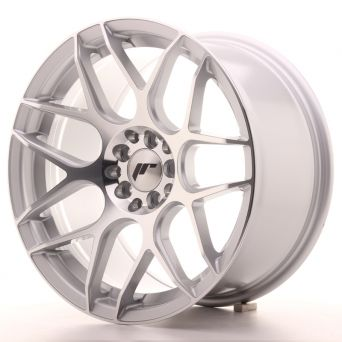 Japan Racing Wheels - JR-18 Silver Machined (17x9 inch)
