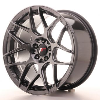 Japan Racing Wheels - JR-18 Hyper Black (17x9 inch)