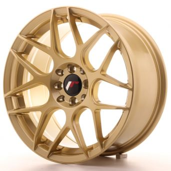 Japan Racing Wheels - JR-18 Gold (17x8 inch)