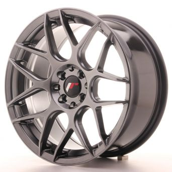 Japan Racing Wheels - JR-18 Hyper Black (17x8 inch)