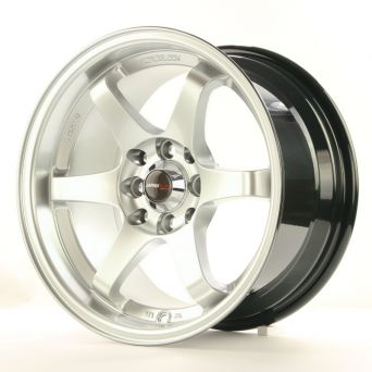 Japan Racing Wheels - JR-3 Hyper Silver (15 inch)