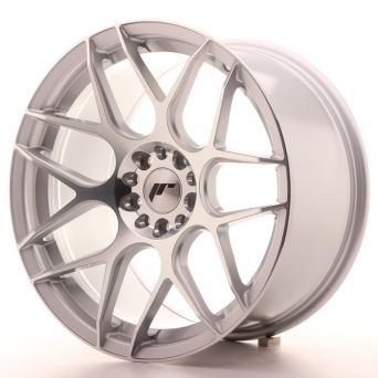 Japan Racing Wheels - JR-18 Silver Machined (18x9.5 inch)