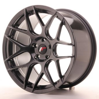 Japan Racing Wheels - JR-18 Hyper Black (18x9.5 inch)