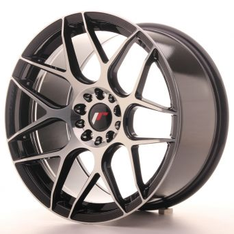 Japan Racing Wheels - JR-18 Black Machined (18x9.5 inch)