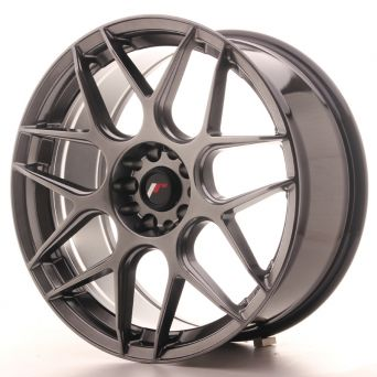 Japan Racing Wheels - JR-18 Hyper Black (19x8.5 inch)