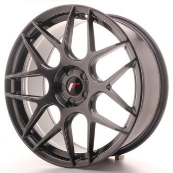 Japan Racing Wheels - JR-18 Hyper Black (20x8.5 Zoll)