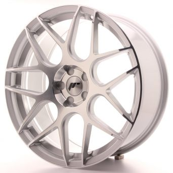 Japan Racing Wheels - JR-18 Silver Machined (20x8.5 inch)