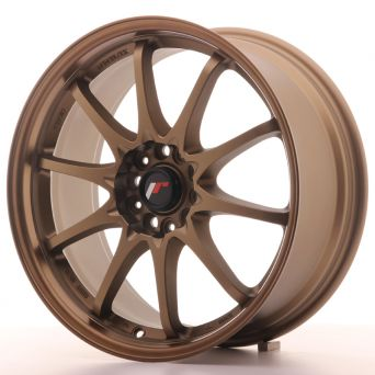 Japan Racing Wheels - JR-5 Dark Bronze (18x8 inch)