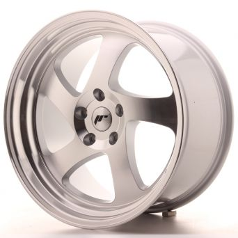 Japan Racing Wheels - JR-15 Machined Silver (19x8.5 inch)